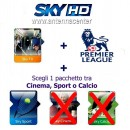 Sky Italia Subscription SkyTV + SkyTV + Sport + Fox Sport + Premiere League 12/13 Months