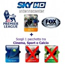 Tarjeta Prepagada HD SKY Italia Sky TV + Sport + Fox Sports<br>Exp. 1. Enero 2018