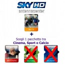 Sky Italia  Prepaid-Karte HD Sky TV + Cinema<br>Bis 1. April 2018