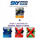 Sky Italia Prepaid Card HD SkyTV + Sport<br>Exp. 1. October 2017