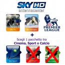 Sky Italia Subscription SkyTV + Famiglia + Sport + Premiere League 12/13 Months