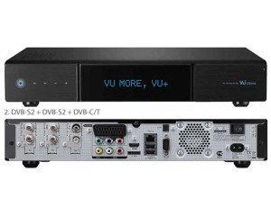 Vu Plus ULTIMO Triplo Tuner Linux HDTV PVR