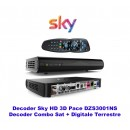 Sky Italia HD Satelliten-Receiver  Sky HD 3D Pace DZS3001NS
